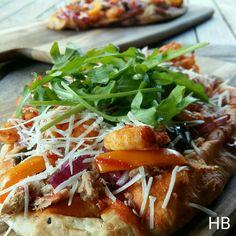 Ocean pizza uit Chef met lef van Nigel van der Horst
