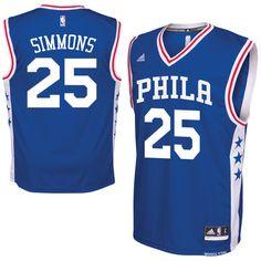 a3d3fa3b0ae Ben Simmons Philadelphia 76ers adidas Replica Jersey - Royal