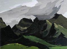 Clouds above Crib Goch by Sir Kyffin Williams (1918 to 2006)