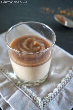 Verrine de panna cotta onctueuse à la crème de marrons !