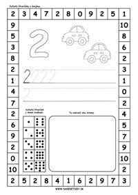 Učíme sa čísla a počítať do 10 - Aktivity pre deti, pracovné listy, online testy a iné