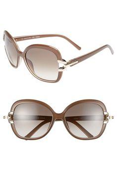 9329343af42 Chloé  Brunelle  58mm Sunglasses