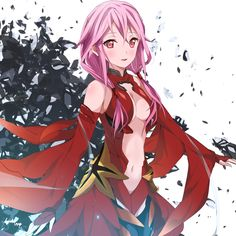 Yuzuriha Inori Anime Girl Hot, Anime Girl Neko, Manga Anime, Anime Art, Female Character Design, Character Concept, Character Art, Female Characters, Anime Characters