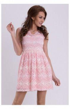 f4267f10af Robes Sans Manche Model 17053 Rose YourNewStyle 59238 Letnie Sukienki