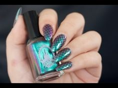 Good Pic Toe Nail Art mermaid Style Generally as soon as we presume associated with foot, we think these are soiled and certainly defini Toe Nail Art, Nail Art Diy, Easy Nail Art, Diy Nails, Acrylic Nails, Nail Art Designs 2016, Simple Nail Art Designs, Converse Nails, Mermaid Nail Art