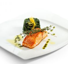 Recept Pečený losos ve špenátovém krému Good Food, Healthy Recipes, Cooking, Creamed Spinach, Kitchen, Healthy Eating Recipes, Healthy Food Recipes, Clean Eating Recipes, Healthy Food