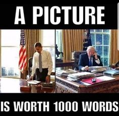 "Well, that could be because Obama didn't begin his day at 11am and take numerous ""executive breaks"" that included tv watching time. This meme is hilarious!"