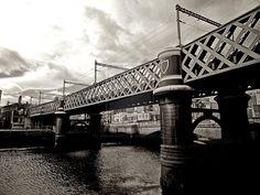 steel bridge in Dublin by alexanderkohn.deviantart.com on @deviantART