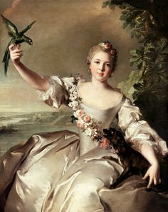 Bild: Jean Marc Nattier - Françoise Renée, Marquise d'Antin