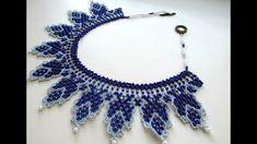 #МК -Колье из бисера. Бисероплетение. A beaded necklace. Beading.