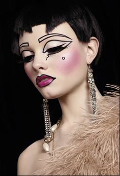 Buy Powder Blusher (Various Shades) from the best make-up experts, here at Illamasqua. The perfect make-up for your alter ego. Drag Makeup, Makeup Art, Beauty Makeup, Eye Makeup, Art Deco Makeup, Weird Makeup, Medusa Makeup, Pixie Makeup, Face Beauty