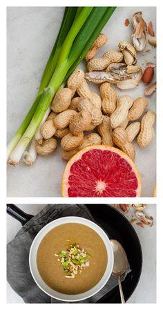 Erdnuss Linsen Suppe