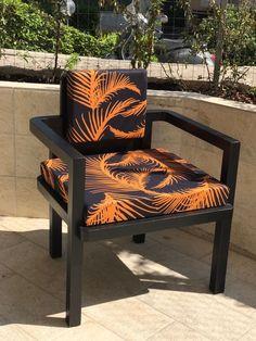 Nuova Collezione Living. Tessuto disegnato da Tweak - Black & Orange
