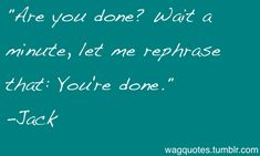 Will and Grace Quotes