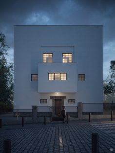 Moller House by Adolf Loos