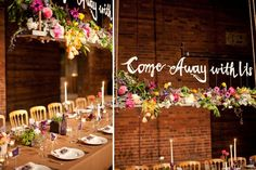 Love this! Would be awesome over the estate table. by Amy Osaba