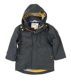 Hatley Classic Grey Boys Splash Jacket