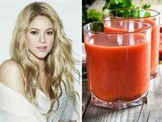 Esta es la dieta que sigue Shakira para lucir delgada