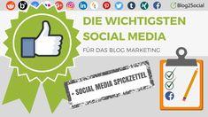 Das Crossposting von Blogbeiträgen auf den Social Media ist eine wichtige Maßnahme, um mehr interessierte Leser auf den Blog zu ziehen.   #Automatisierung #BlogMarketing #Blog2Social #Crossposting #Reichweite #Scheduling #SocialMedia #SocialMediaManagement #SocialMediaTool #SozialeNetzwerke #Statistiken #wichtigstenSocialMedia #WordPress #Zahlen