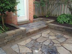 Garden walls/flagstone