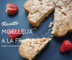 Gâteaux moelleux à la fraise