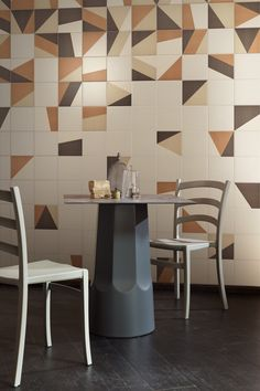 Indoor glazed stoneware wall/floor tiles TANGRAM - @bardelli