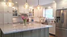 Find here best kitchen decorating ideas and designs by True Identity Concepts, Who is one of the bes Kitchen And Bath, Kitchen Decor, Kitchen Design, Kitchen Layouts With Island, Westchester County, New York, Kitchen Images, Country Chic, Cool Kitchens