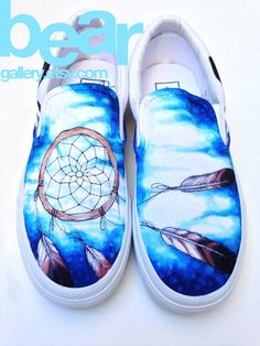 Custom Vans Shoes Dream Catcher by BearGallery on Etsy