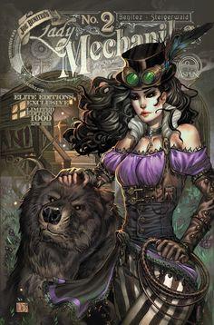 Inspiration for my next Steampunk Costume Lady Mechanika