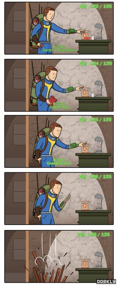 Fallout 3! Weight