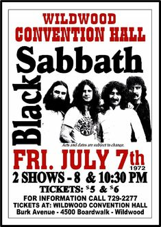 BLACK-SABBATH-1972-Wildwood-NJ-Convention-Hall-Art-Rendition-Poster-THouse-2015