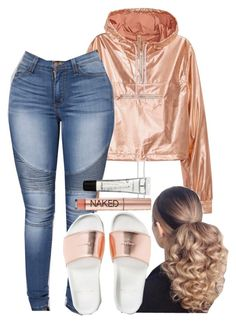 """A Boogie x Work✨"" by ssophiiia ❤ liked on Polyvore featuring M.A.C and Urban Decay"