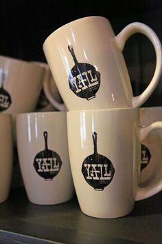 YALL coffee mug {junk gypsy co}