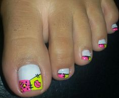 Nails Toenail Art Designs, Pedicure Designs, Pedicure Nail Art, Toe Nail Art, Wonder Nails, Nail Polish Style, Cute Pedicures, Baby Nails, Painted Toes