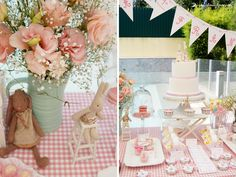 cute details for this cute rabbit' Maileg themed party