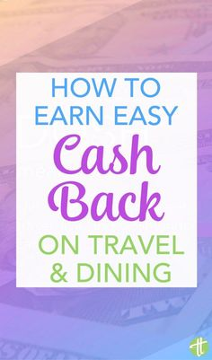 Earn cash back for travel and dining effortlessly with the easy new app Dosh. No travel hacking or extreme couponing required. (sponsored) Travel Advice, Travel Tips, Travel Hacks, Travel Ideas, Ways To Save Money, Money Saving Tips, All Family, Family Travel, Credit Card Points