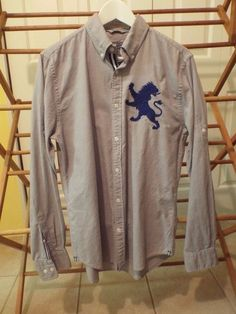Men's Long Sleeve Shirt by Express Size Med Casual Shirts #Casual #ButtonFront