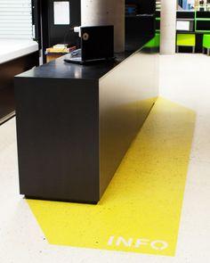 Love floor graphics
