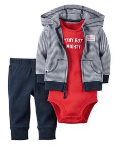 Baby Boy 3-Piece Babysoft Cardigan Set   Carters.com
