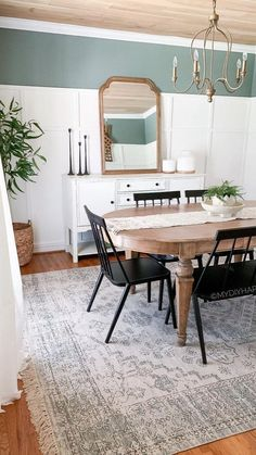 Dining Room Design, Dining Rooms, Home Decor Inspiration, Decor Ideas, Large Homes, Interior Design, Interior Paint, New Room, Retro