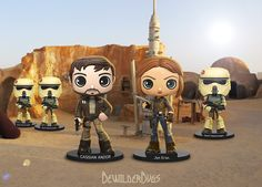 Star Wars: Rogue One Wobblers Bobble-Heads