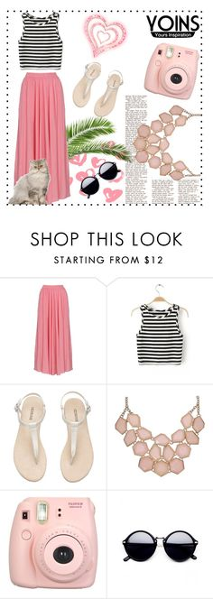 """""""Yoins set"""" by irmica-831 ❤ liked on Polyvore featuring Fujifilm"""