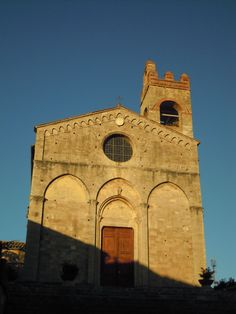 Asciano, Siena, Toscana.