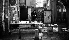Street Moods - Old Book Vendor