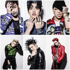 CROSS GENE teases with bad boy individual images