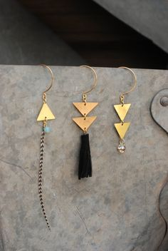 i need to buy some triangles in all different metals