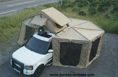 Would you like to go camping? If you would, you may be interested in turning your next camping adventure into a camping vacation. Camping vacations are fun and exciting, whether you choose to go . Auto Camping, Camping Glamping, Camping Survival, Outdoor Camping, Tent Camping Beds, Camping Style, Truck Bed Camping, Glam Camping, Camping Set
