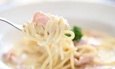 Spaghetti z boczkiem i mascarpone