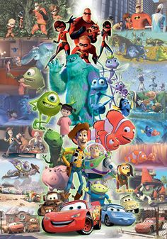 Tenyo Disney Pixar Characters Collection Tenyo Disney Japan Jigsaw Puzzle Origin : Japan (Made in Japan) Piece : 1000 pcs Finished Size : 51 x cm Remarks : . Bambi Disney, Mermaid Disney, Disney Winnie The Pooh, Disney Pixar, Disney Princess Snow White, Disney Princess Cinderella, Donald Disney, Pixar Characters, Disney Sleeping Beauty