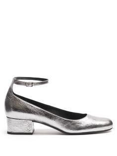 Click here to buy Saint Laurent Babies leather pumps at MATCHESFASHION.COM